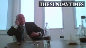 Peter Cruddas (Sunday Times footage)