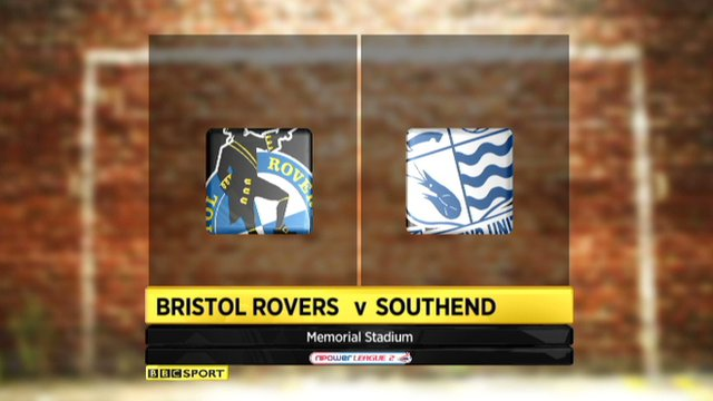 Bristol Rovers 1-0 Southend
