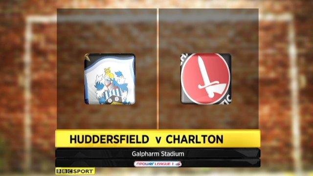 Huddersfield 1-0 Charlton