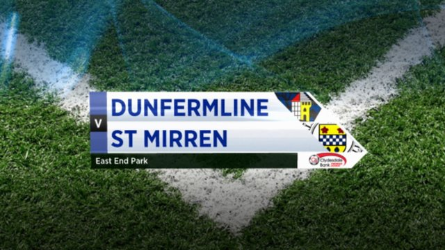Highlights - Dunfermline 1-1 St Mirren