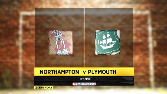 Northampton 0-0 Plymouth