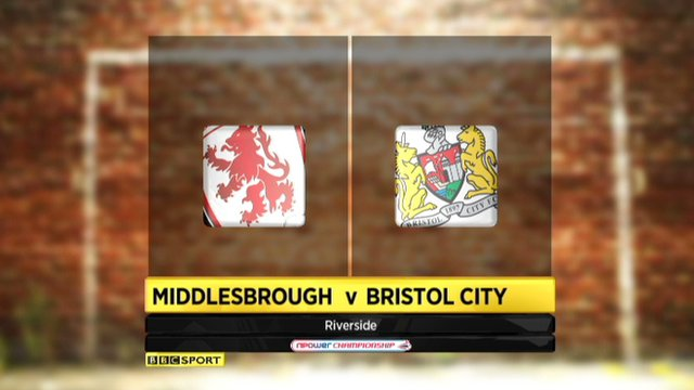 Middlesbrough 1-1 Bristol City