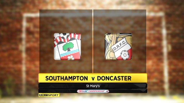 Southampton 2-0 Doncaster