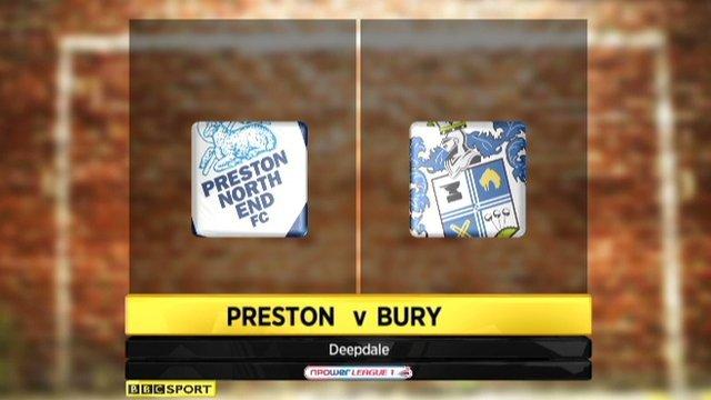 Preston 1-1 Bury