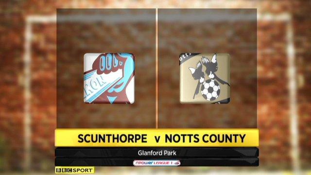 Scunthorpe 0-0 Notts County