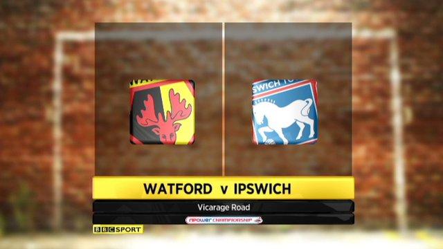 Watford 2-1 Ipswich