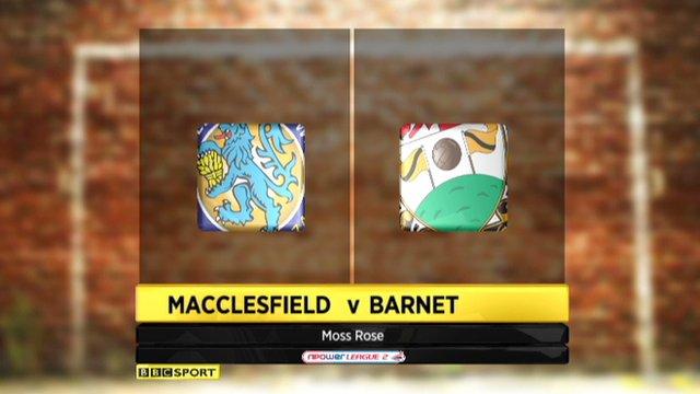 Macclesfield 0-0 Barnet