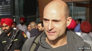 Mark Strong in India