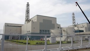 File photo: Kashiwazaki-Kariwa power station