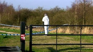 Wigan body find scene