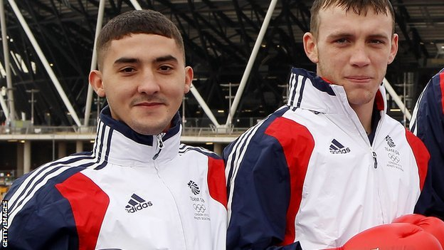 Andrew Selby and Fred Evans