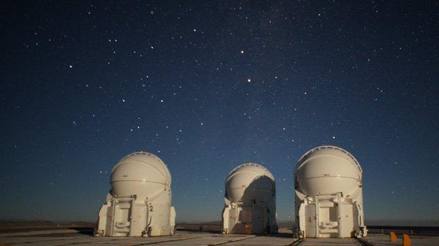 Auxiliary telescopes, VLT, Paranal, Chile
