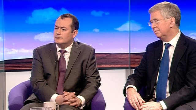 Michael Dugher and Michael Fallon