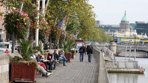 Street scene in Dublin