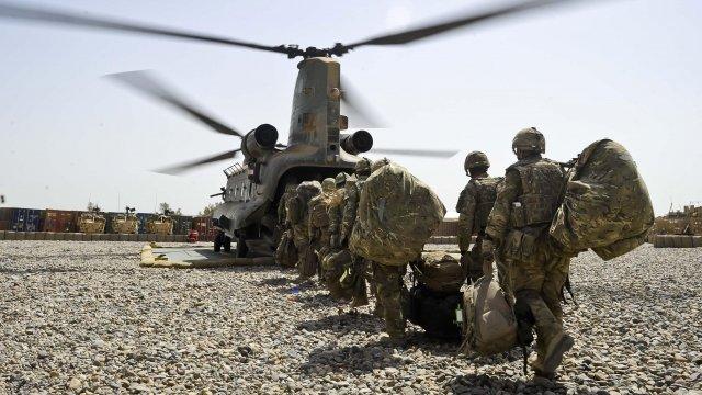 Troops in Afghanistan - generic image