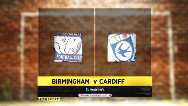 Birmingham v Cardiff