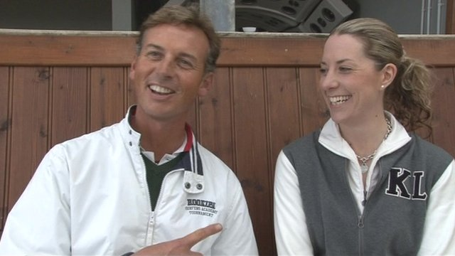 Carl Hester was introduced to Charlotte Dujardin by her mother