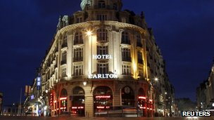 The Carlton Hotel in Lille, France (file pic)