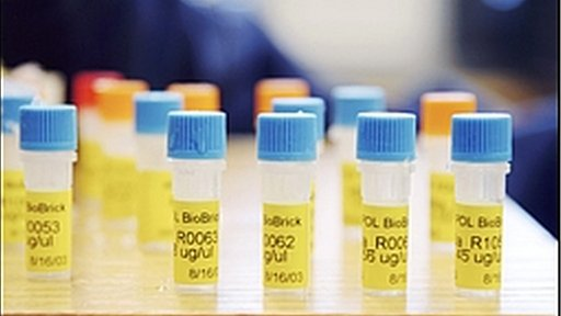 Vials of DNA BioBricks