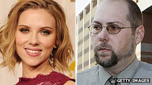 Scarlett Johansson and Christopher Chaney