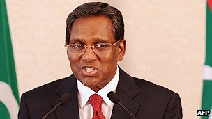 Maldives leader Mohammed Waheed Hassan