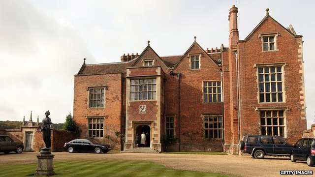 Chequers, the PM's official country residence