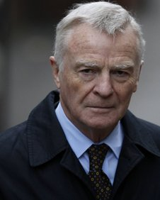 ex-Formula One boss Max Mosley