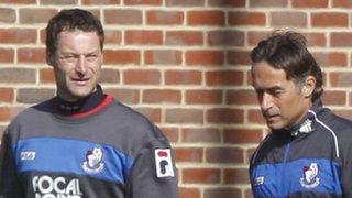Paul Groves (left) and Shaun Brooks.