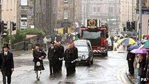 Edinburgh funeral