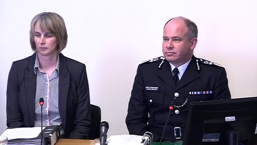 Gillian Shearer, Cumbria Constabulary and Dep Comm Craig Mackey, MPS