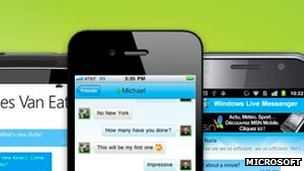 Windows Messenger on phones
