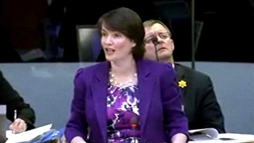 Liberal Democrat Leader Kirsty Williams