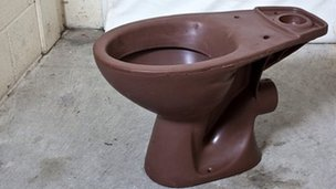 Chocolate toilet
