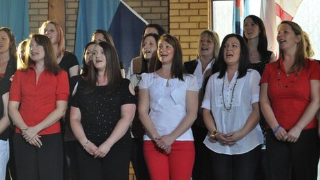 Wattisham Military Wives Choir