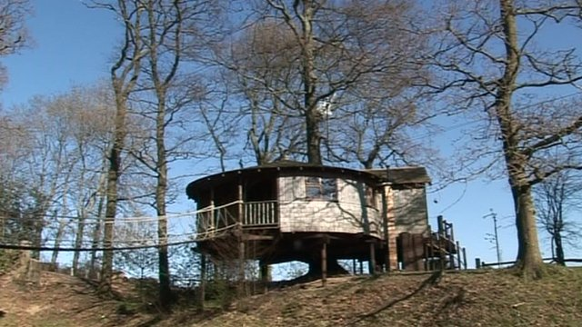 Tree house in Wadhurst