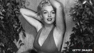 Marilyn Monroe in 1956