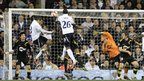 Ryan Nelsen opens the scoring at White Hart Lane 