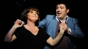 Elaine C Smith with Gordon Cooper in I Dreamed A Dream
