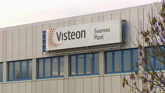 Visteon&#039;s former Swansea plant