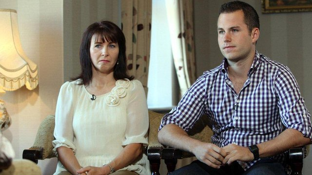 Ronan Kerr's mother Nuala and brother Cathair appeal for information about his murder