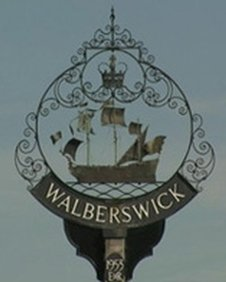 Walberswick sign from onesuffolk.net