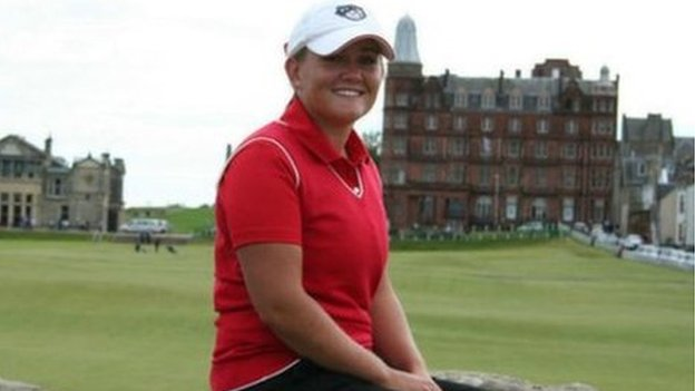 Jersey golfer Olivia Jordan-Higgins