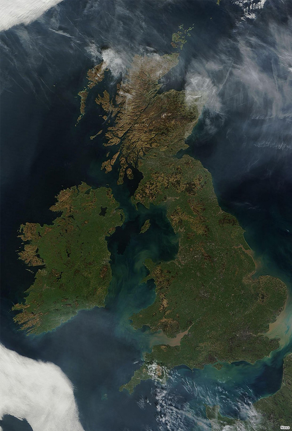 NASA PICTURE OF UK