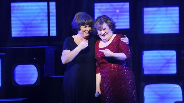 Elaine Smith and Susan Boyle