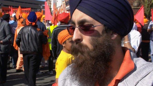 Sikh protester Kirat Raj Singh