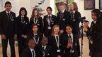 School Report team fron Icknield High School