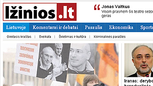 Lithuanian news website