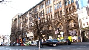 Former Tacheles department store n Berlin