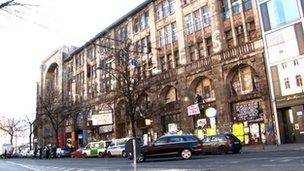 Former Tacheles department store n Berlin