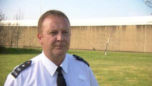 Paul McLennan, branch chairman of the Prison Officers Association at HMP Moorland, Doncaster